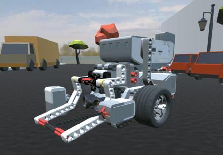 EV3 online simulator CoderZ