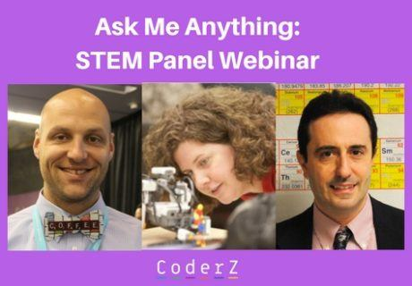 Ask Me Anything_STEM Panel Webinar CoderZ