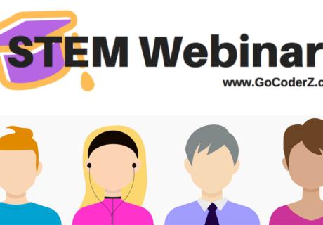 CoderZ STEM and STEAM webinars