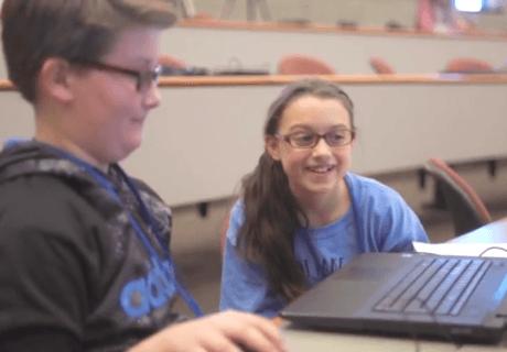 CoderZ CRCC New Hampshire cyber robotics students