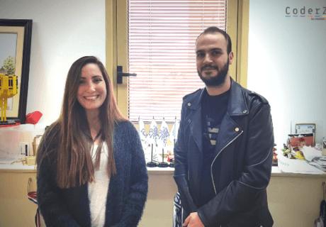 Dorin Shani and Mohammad Qashua - CoderZ STEM Blog
