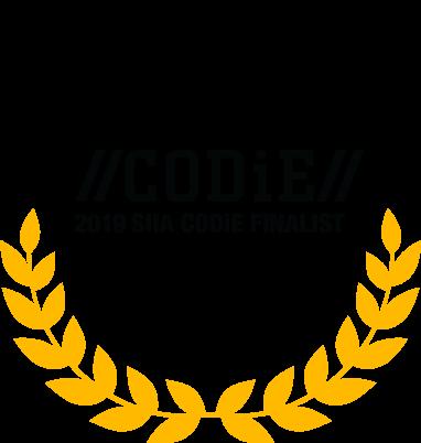 CODiE Finalist logo