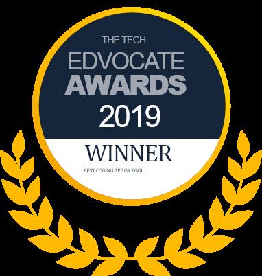 Winner of the EDVOCATE AWARDS logo